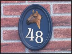 Voorbeelden huisnummerborden for Huisnummerbord maken