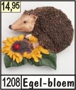 3d naambord met een bosdier for Huisnummerbord maken