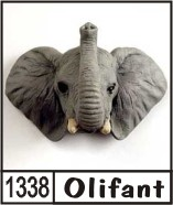 3d naambord met een wild dier for Huisnummerbord maken