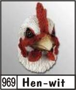 3d naambord met een haan kip kalkoen of pauw for Huisnummerbord maken